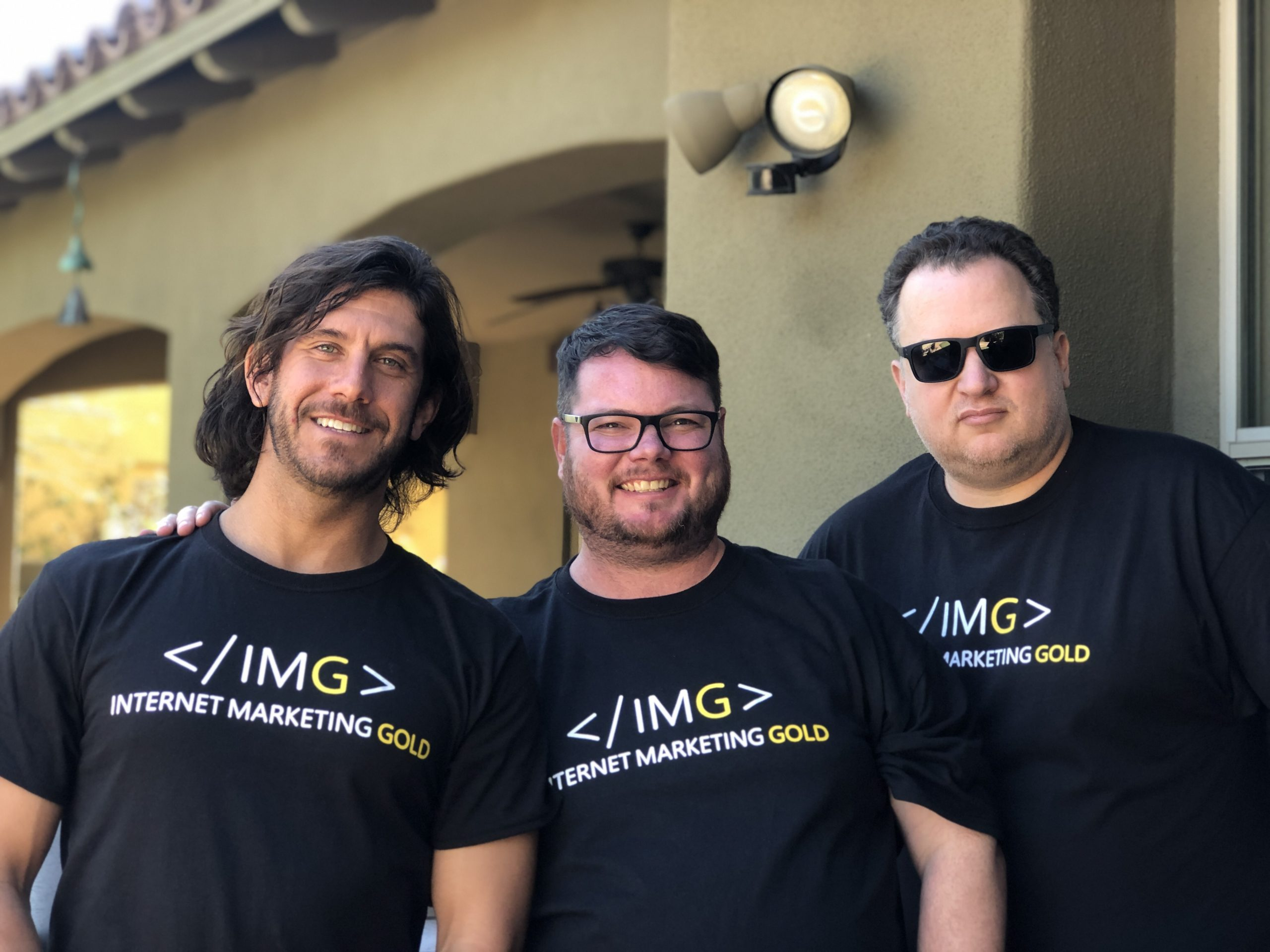 Andrew Steven, Kyle Roof, Ted Kubaitis